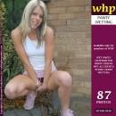 Natalie Jones has some panty wetting fun in the garden