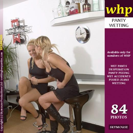 Nicki & Freya Lee - `Nicki And Freya Lee Play A Wetting Game` - by Skymouse for WETTINGHERPANTIES