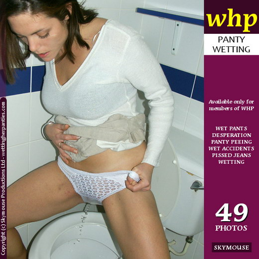 Tasmin - `Tasmin Demonstrates The Correct Way To Use A Toilet` - by Skymouse for WETTINGHERPANTIES