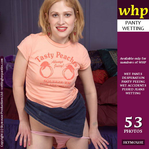 Tiffany Jones - `After The Wetting - Part 2 Of D2P-154` - by Skymouse for WETTINGHERPANTIES