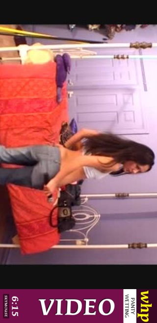 Samantha - `Recording from Samantha's webcam` - by Skymouse for WETTINGHERPANTIES