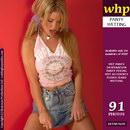 Shona Brazenly Pisses Her Denim Skirt