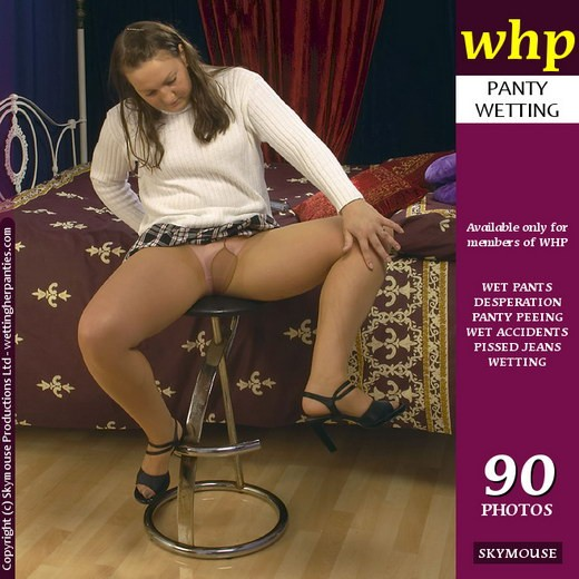 Anna - `Anna Wets Her Pantyhose` - by Skymouse for WETTINGHERPANTIES