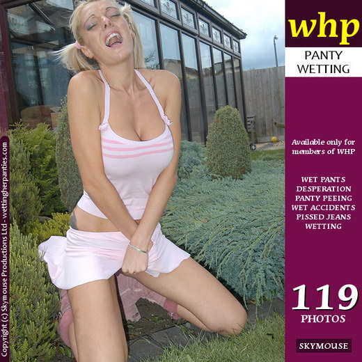 Jamie Lee - `Jamie Lee Is Desperate In The Garden` - by Skymouse for WETTINGHERPANTIES