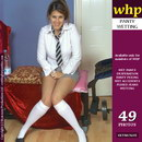 Helen Wets Her White Panties And Socks