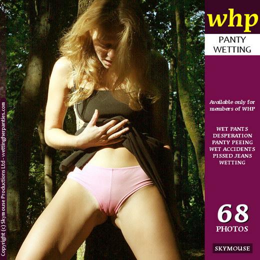 Yuliya - `Yuliya Wets Her Pink Panties Under Her Sexy Black Dress` - by Skymouse for WETTINGHERPANTIES