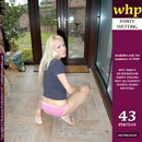 Julia Wets Her Pink Panties In The Conservatory