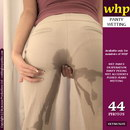 Mandy More's Pale Coloured Pants Are Just Waiting To Be Wet