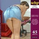 Helen Wets Her Panties In The Studio