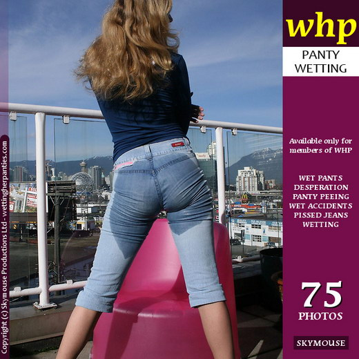 Yuliya - `A Pink Chair Blue Jeans` - by Skymouse for WETTINGHERPANTIES