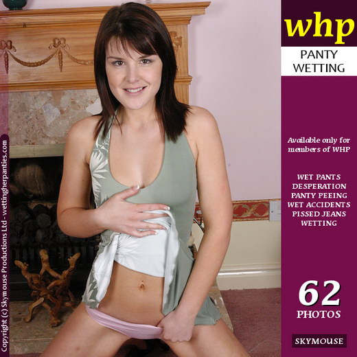Elle Brook - `Elle Brook Has Her First Panty Wetting` - by Skymouse for WETTINGHERPANTIES