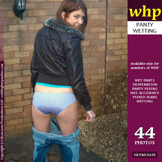 Ashleigh - `Ashleigh Deliberately Wets Her Jeans` - by Skymouse for WETTINGHERPANTIES