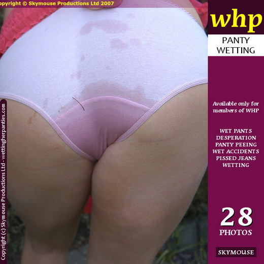 Tiffany Kingston - `Tiffany Kingston Pees A Big Wet Patch Into Her Panties` - by Skymouse for WETTINGHERPANTIES