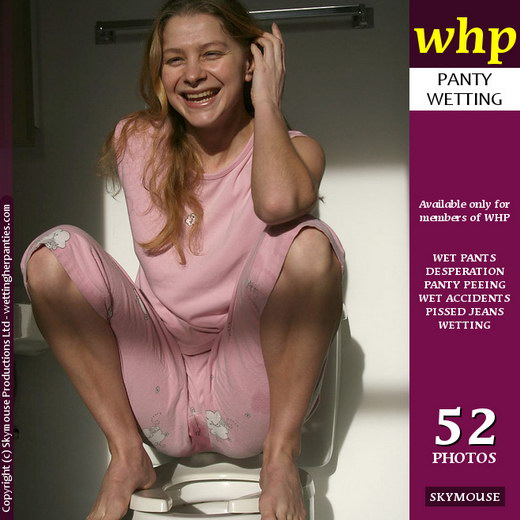 Yuliya - `Yuliya Wets Her Pyjamas Whilst Sitting On The Toilet` - by Skymouse for WETTINGHERPANTIES