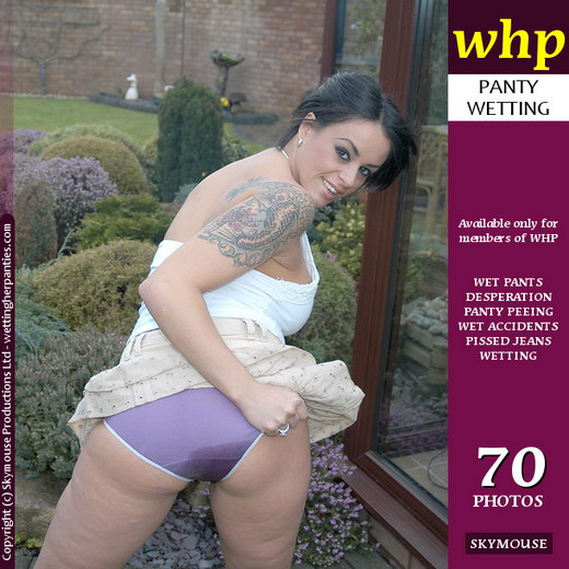 Victoria Brown - `Victoria Brown Wets Her Cute Purple Panties` - by Skymouse for WETTINGHERPANTIES