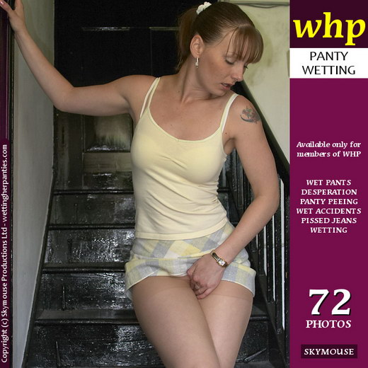 Jo May - `Jo May Shows How She Wets Her Pantyhose` - by Skymouse for WETTINGHERPANTIES