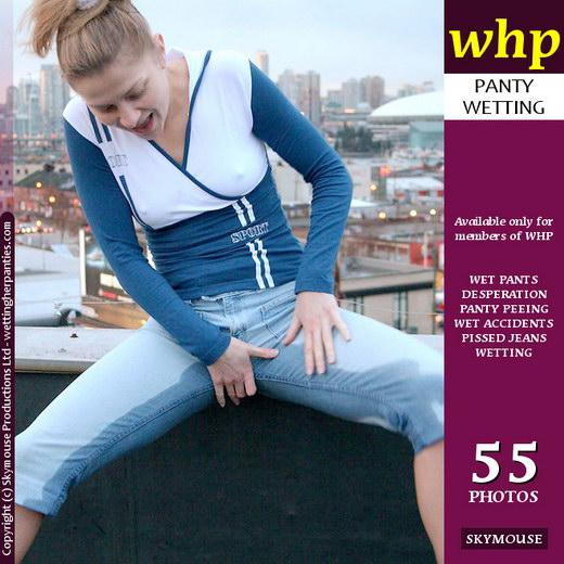 Yuliya - `Yuliya Soaks Her Blue Jeans` - by Skymouse for WETTINGHERPANTIES