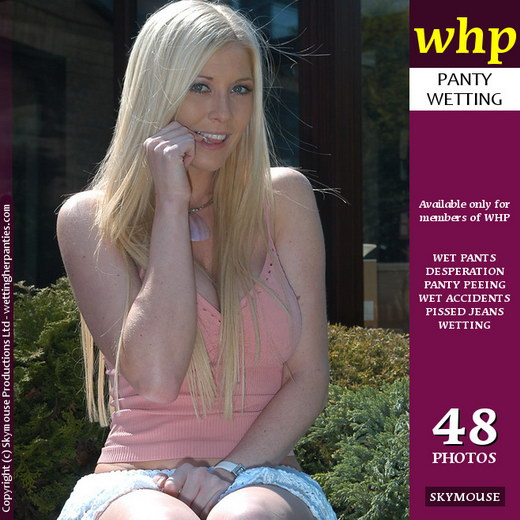 Michelle B Has A Deliberate Garden Wetting gallery from WETTINGHERPANTIES by Skymouse