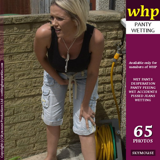 Lucy Zara - `Louise B Is Desperate To Pee` - by Skymouse for WETTINGHERPANTIES