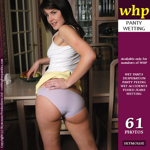 Elle Brook - `Elle Brook Soaks Her Panties And The Carpet` - by Skymouse for WETTINGHERPANTIES