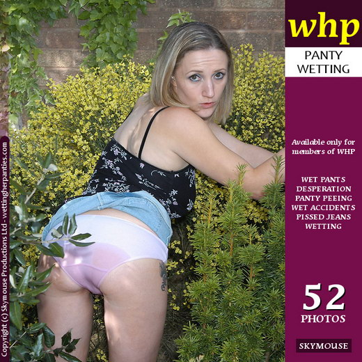 Ayla - `Ayla Wets Her Panties In The Greenery` - by Skymouse for WETTINGHERPANTIES