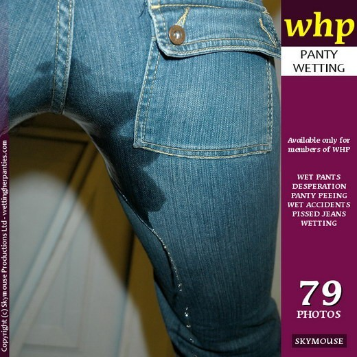 Victoria Brown - `Frustrated Victoria Brown Wets Her Jeans` - by Skymouse for WETTINGHERPANTIES