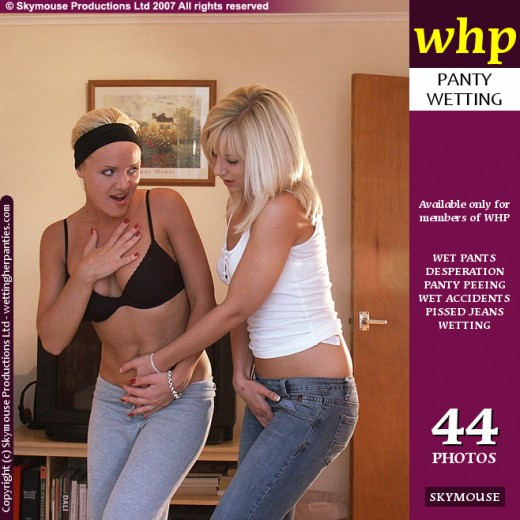 Nicki & Carly - `Nicki And Carly Play Hold It - Part 1` - by Skymouse for WETTINGHERPANTIES