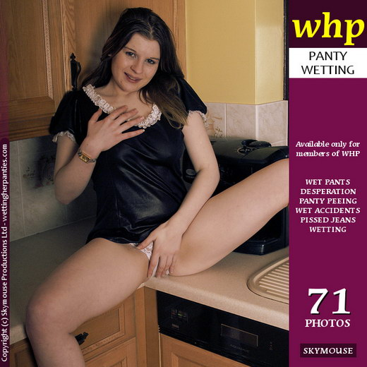 Rebekah Jordan - `Rebekah Jordan Uses The Kitchen Sink For A Change` - by Skymouse for WETTINGHERPANTIES