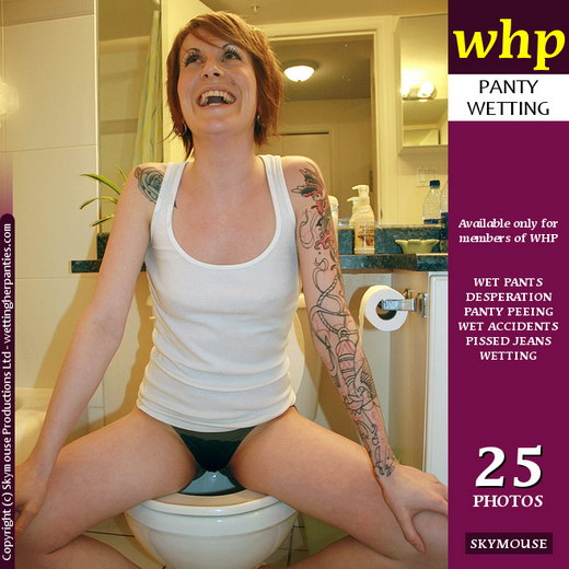 Tiffany E - `Tiffany E Uses The Toilet (Almost)` - by Skymouse for WETTINGHERPANTIES