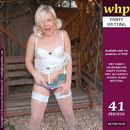 Tiffany Kingston Shows Her Wet Purple Panties