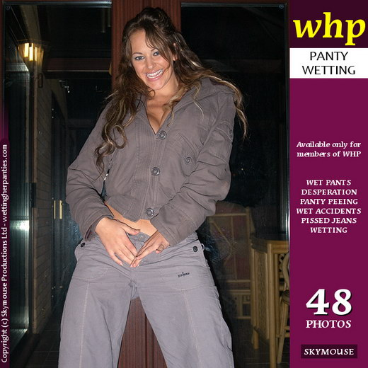 Vickie Powell - `Vickie Powell Shows Her Wet Jeans At Night` - by Skymouse for WETTINGHERPANTIES