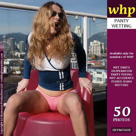 Yuliya - `Yuliya Pisses On A Pink Plastic Chair` - by Skymouse for WETTINGHERPANTIES