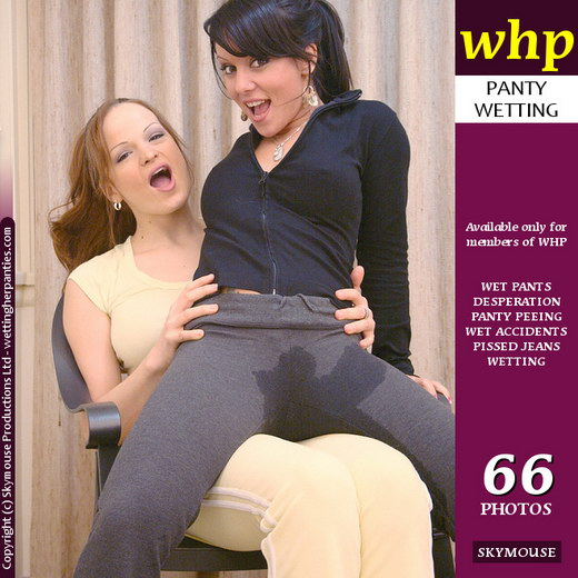 Harley & Janessa - `After The Wetting - Part 2` - by Skymouse for WETTINGHERPANTIES