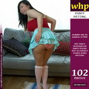 Koko Li Soaks Her Pink Panties
