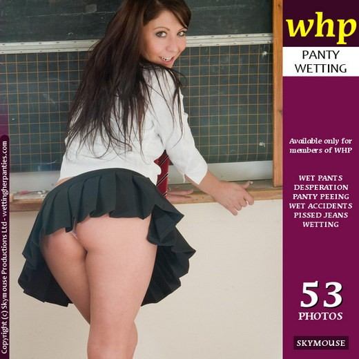 Antonia Stokes - `Antonia Stokes Has A Classroom Accident` - by Skymouse for WETTINGHERPANTIES