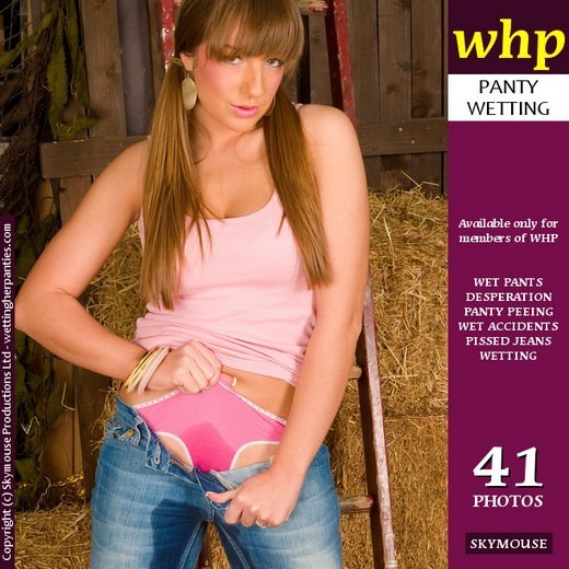 Sexy Cate H Gives A Grandstand Wetting In The Stable gallery from WETTINGHERPANTIES by Skymouse