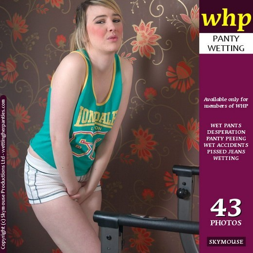 Katie K - `Katie K's Exercise Time Ends With A Desperate Panty Wetting` - by Skymouse for WETTINGHERPANTIES