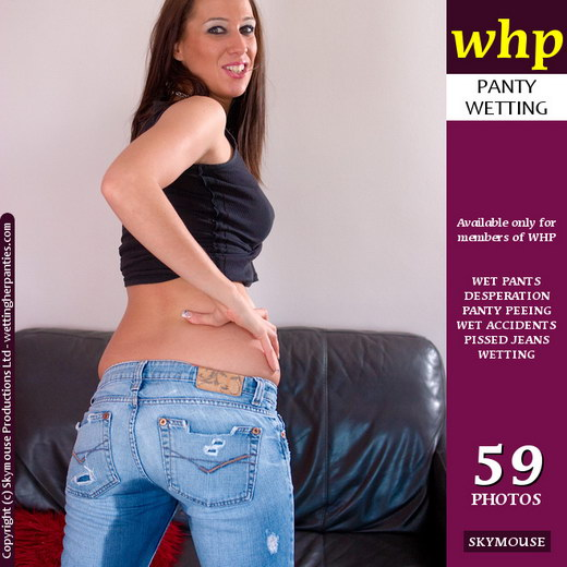 Tammie Lee - `A Welcome Back Jeans Wetting By Tammie Lee` - by Skymouse for WETTINGHERPANTIES