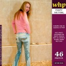 Petra's Light Coloured Jeans Turn Much Darker After A Long Pee