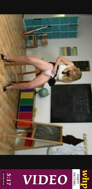 Shay Hendrix - `College girl Shay wets her panties in class` - by Skymouse for WETTINGHERPANTIES