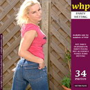 Lotta Makes A Wet Spot In Her Tight Jeans