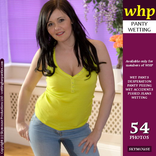 Danielle - `Danielle's First Wetting On The Site` - by Skymouse for WETTINGHERPANTIES