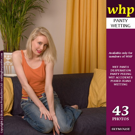 Nokia Rose - `Nokia Rose Drops Her Wet Jeans To Show Off Her Wet Panties` - by Skymouse for WETTINGHERPANTIES