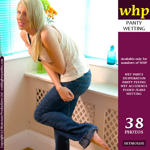 Danielle Maye - `Desperation Gets The Better Of Danielle Maye` - by Skymouse for WETTINGHERPANTIES
