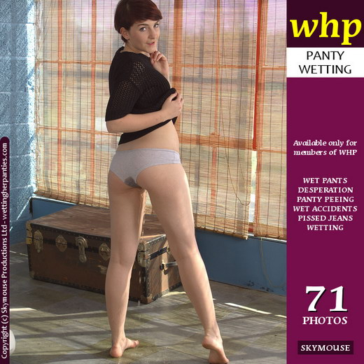 Adreena - `Web Girl Adreena Joins The Site With A Great Panty Wetting` - by Skymouse for WETTINGHERPANTIES