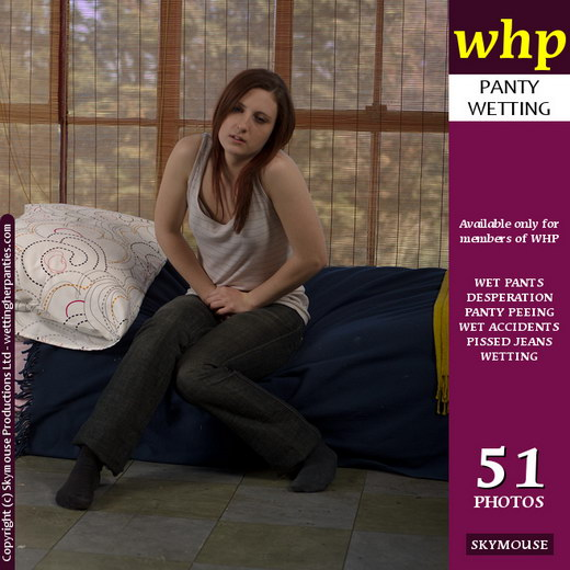 Courtney - `Courtney Can't Hold It And Wets Her Jeans And Panties` - by Skymouse for WETTINGHERPANTIES