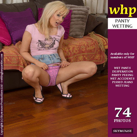 Faye - `Faye's Pretty Pink Panty Wetting` - by Skymouse for WETTINGHERPANTIES