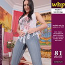Chloe Lovette Wets Her Pink Panties And Her Jeans