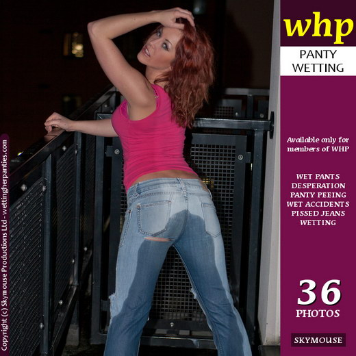 Lily May - `Lily May Wets Her Tight Denim Jeans` - by Skymouse for WETTINGHERPANTIES