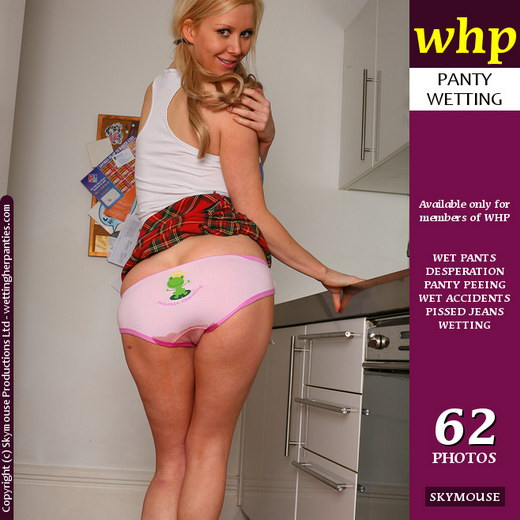 Lucy Alexandra - `Lucy Wets Herself In The Kitchen` - by Skymouse for WETTINGHERPANTIES